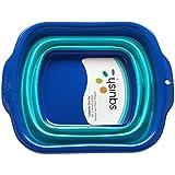 Squish Collapsible Dish Pan, Blue