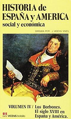 4. Historia de Espa–a y AmŽrica (Vicens Bolsillo): Amazon.es: Mercader Riba, Juan: Libros