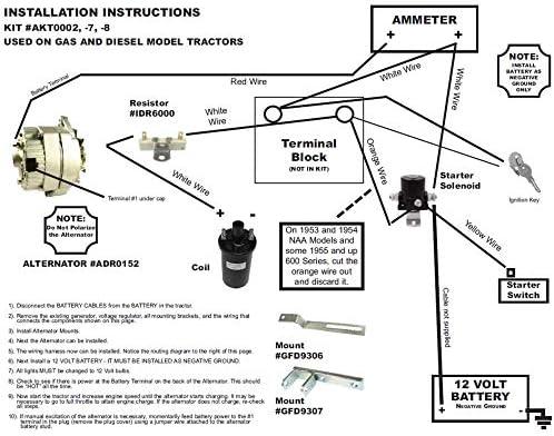 Ford 9n Wiring Diagram 12 Volt 1 Wire Alternator - Wiring ...
