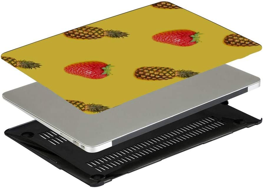 Mac Book Pro Accessories Summer Fashion Sour Fruit Pineapple Plastic Hard Shell Compatible Mac Air 11 Pro 13 15 Mackbook Case Protection for MacBook 2016-2019 Version