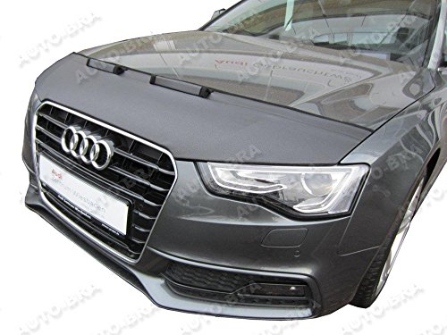 [HOOD BRA Front End Nose Mask for Audi A5 2011-2016 Bonnet Bra STONEGUARD PROTECTOR TUNING] (Audi A5 Tuning)