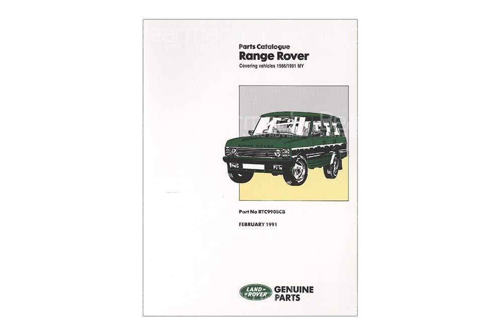 BEARMACH OEM - Parts Catalogue - Range Rover Classic 1986-1992 Part# RTC9908C