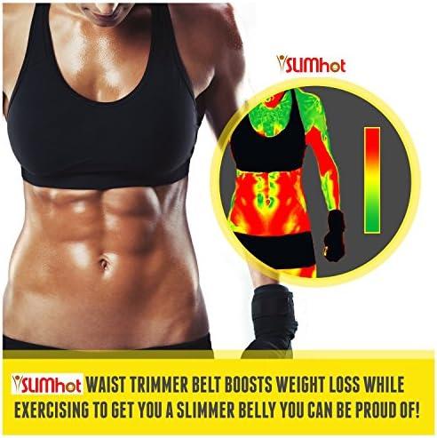 SlimHot Hot Slimming Belly Burner Tummy Waist Trimmer Belt 4