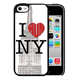I Heart New York Hard Snap On Cell Phone Case Cover (iPhone 5c)