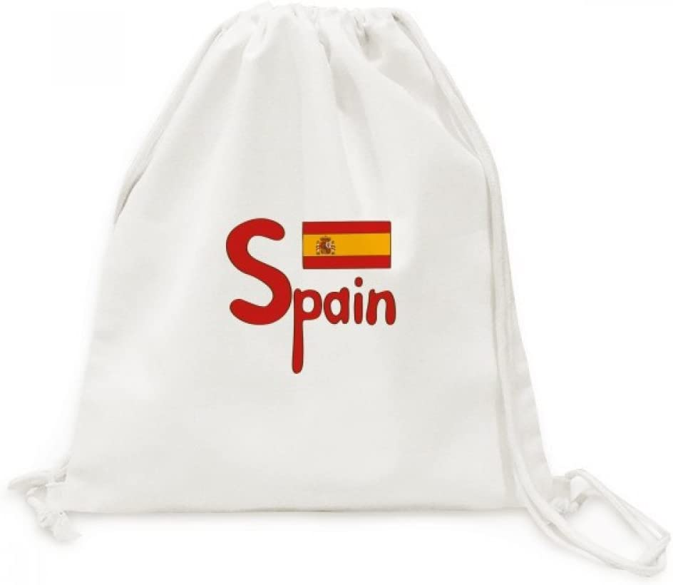 DIYthinker Viajes España Bandera Nacional Modelo Rojo de la Lona ...