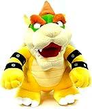 """Super Mario Plush - 10"""" Bowser Soft Stuffed Plush Toy Japanese Import"""