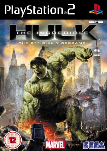 INCREDIBLE HULK - Hulk Games Ps2