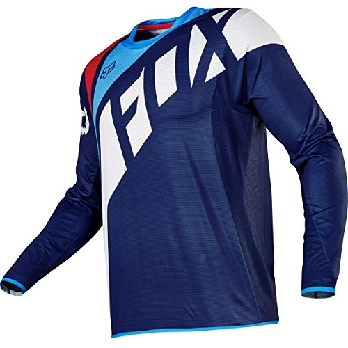 Flexair Jerseys (2017 Fox Racing Flexair Seca Jersey-Navy-XL)