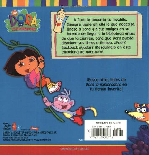 La mochila de Dora (Doras Backpack) (DORA LA EXPLORADORA/DORA THE EXPLORER (SPANISH)) (Spanish Edition): Sarah Willson, Robert Roper: 9780689863066: ...