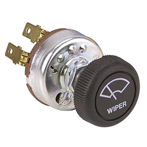 New Universal Windshield Wiper Motor Switch w Knob 2 Speed - Street Hot ()