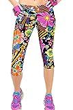 Kyпить Ancia Womens Tartan Active Workout Capri Leggings Fitted Stretch Tights(Jasmine,S) на Amazon.com