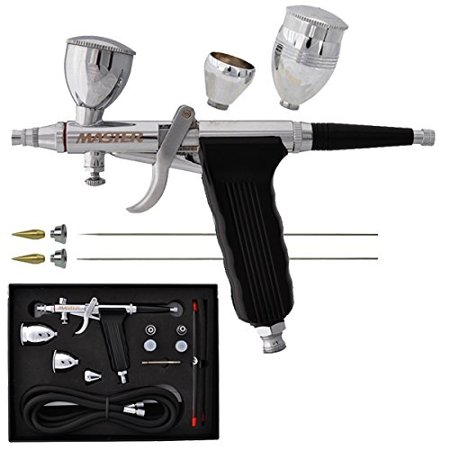Master Airbrush Model G79 All-Purpose Precision Fixed Dual-Action Trigger Sty...