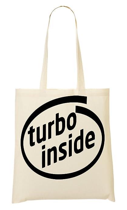 Car Turbo Inside Bolso De Mano Bolsa De La Compra: Amazon.es: Zapatos y complementos