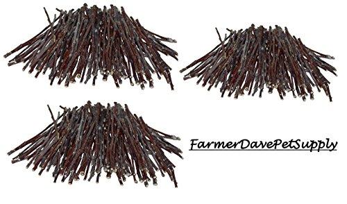 FarmerDavePetSupply 300 Apple Ultra Skinny Chew Twigs for Small Animals