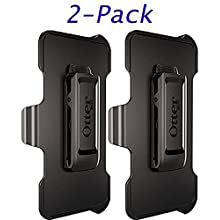 Otterbox Replacement Holster Belt Clip Only for Galaxy S8 Defender Cases - Black (2 Pack) (2 Pack)
