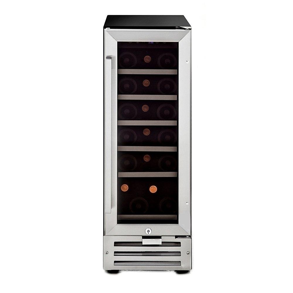 amazoncom whynter bwr18sd 18 bottle builtin wine appliances - Under Counter Wine Fridge