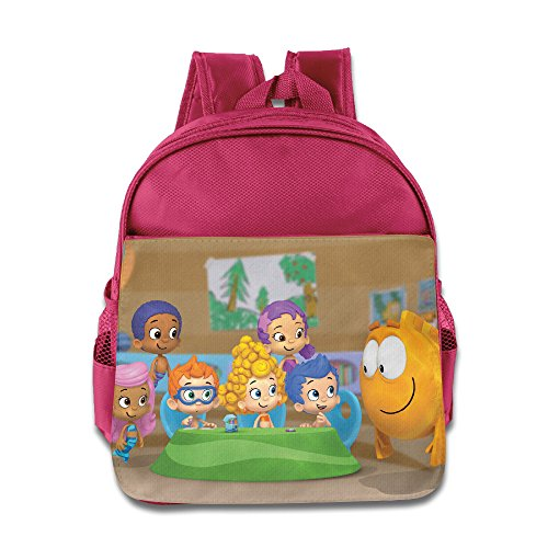 Bubble Guppies Family Kids School Backpack Pink]()