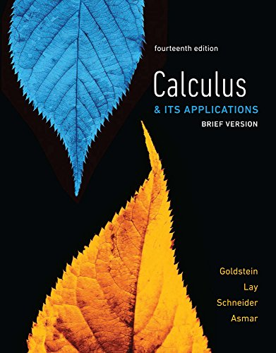 Calculus & Its Applications, Brief Version
