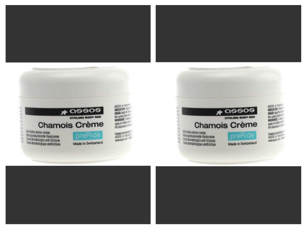 Assos Chamois Cream (4.73 oz.) Twin Pack (2 Jars)