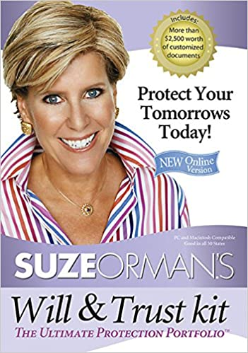 Suze ormans will trust kit the ultimate protection portfolio suze ormans will trust kit the ultimate protection portfolio suze orman 9781401918996 amazon books solutioingenieria Choice Image