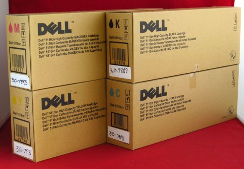 GENUINE 5110cn CAPACITY Dell Printer