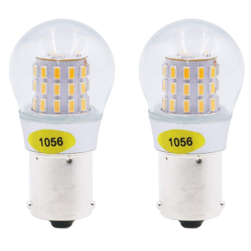 F/ür Blinker Seitenblinker Licht 2 Packungen Gelb Bernstein Super Hell 1056 7507 12496 Gl/ühbirne Anpassbar an 10-30V DC