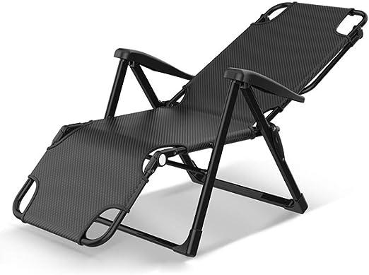Zcyg Tumbona Tumbonas Plegables Hamaca reclinable portátil Balcón Sun Beach Ocio sillas de jardín reclinable Camping al Aire Libre: Amazon.es: Hogar