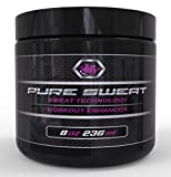 Pure Sweat Stomach Fat Burner Body Slimming Cream With Coconut Oil - Great for Weight Loss and Stretch Marks. Sweat Workout Enhancer by Beast Labz (4 Oz)