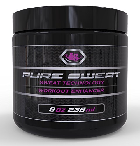 Pure Sweat Stomach Fat Burner Body Slimming Cream With Coconut Oil - 8oz Weight Loss Workout Enhancer by Beast - Burner Slow