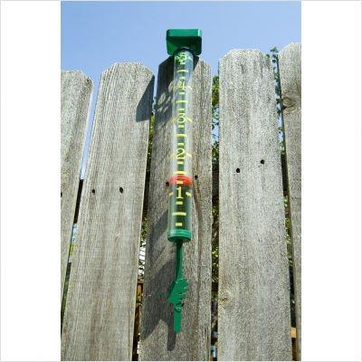 EZ Read Rain Gauge Color: Forest Green