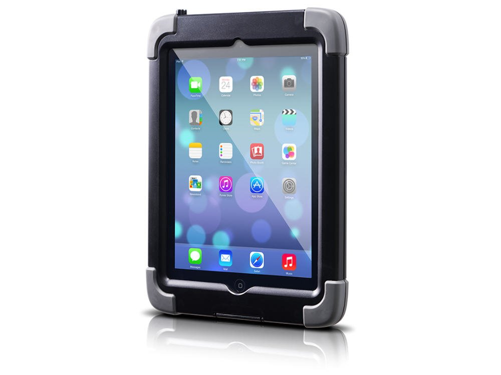 The Joy Factory aXtion Pro Waterproof Rugged Shockproof Case for iPad Air, Built-In Screen Protector (CWA209) by The Joy Factory
