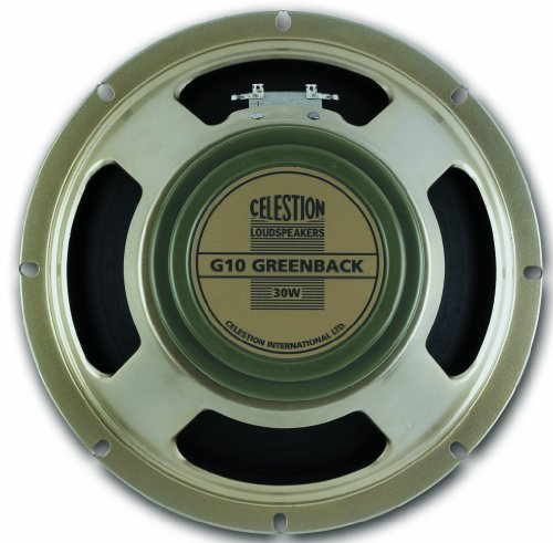 (Celestion G10 Greenback Guitar Speaker, 16 Ohm)