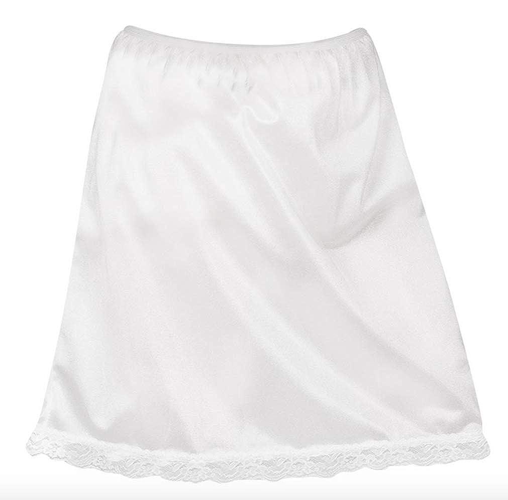 L C Boutique Girls Nylon Half Slip in Size 4-14 New ICM
