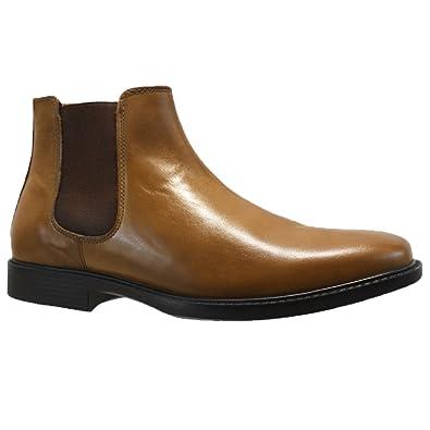 7b76728cfd3 Mens RED Tape DENWICK Leather Chelsea Dealer Military Desert Biker Ankle  Work Boots (UK 6