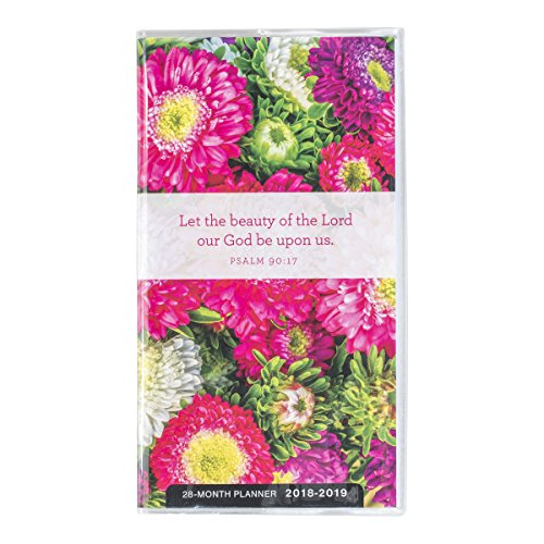 Stitches Pattern Booklet (2018 Pocket Planner - Let the Beauty of the Lord Be Upon Us - Floral)
