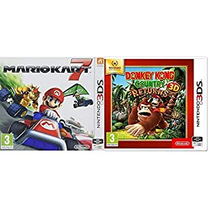 Mario Kart 7 (Nintendo 3DS) & Selects – Donkey Kong Country Returns 3D (Nintendo 3DS)