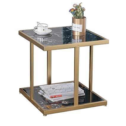 Tavolino Da Salotto In Marmo.Comodino Tavolino Da Salotto Quadrato 2 Tavolini Da Salotto In Marmo