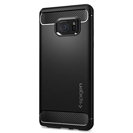 official photos a28a5 03ad9 Spigen Galaxy Note 7 Case, [Rugged Armor] Resilient [Black] Ultimate  protection from drops and impacts for Samsung Galaxy Note 7 (2016) -  (562CS20403)