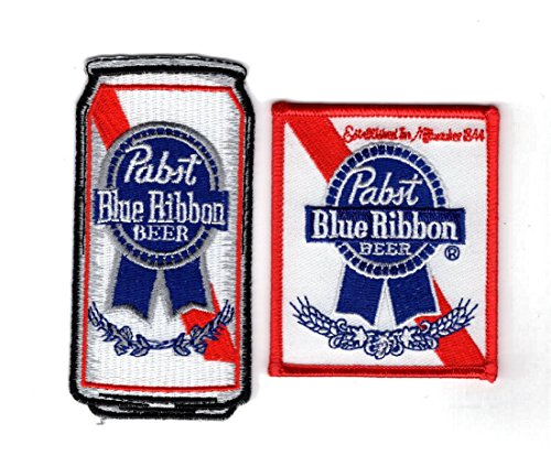 pabst-blue-ribbon-embroidered-iron-on-beer-can-bundle-2pc-patch