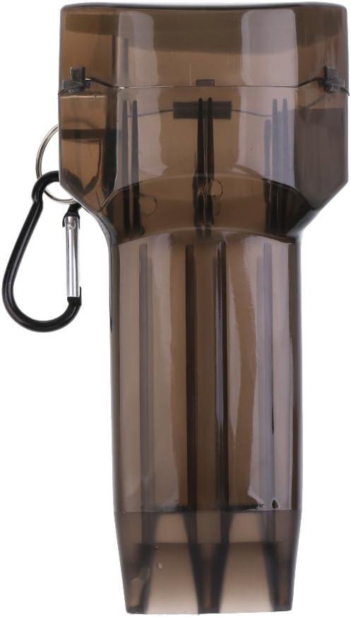 Toygogo Darts Tasche H/ülle Dartpfeile Box Wallet Geldb/örse Darth/ülle aus Kunststoff mit Karabinerhaken 2er Set