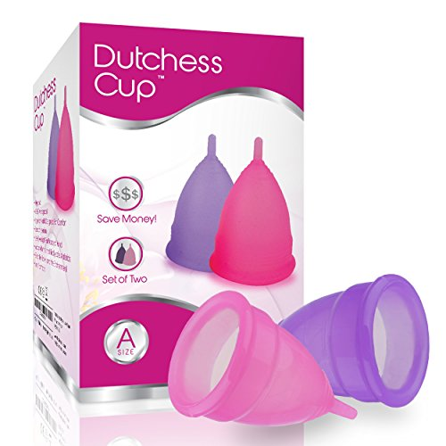 Dutchess Menstrual Cups Set of 2 with Free Bag - Best