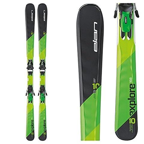 Elan Explore 10Ti Skis with EL 10.0 Bindings 2017 - 152cm (Elan Explore)