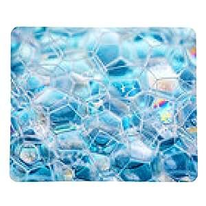 alfombrilla de ratón espuma del jabón - rectangular - 23cm x 19 cm