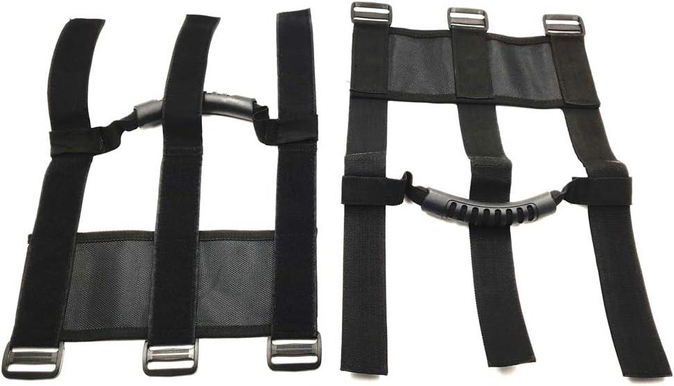 "1.75/""-2/"" ATV /& UTV Roll Bar High quality Oxford Adjustable Straps Grab Ha HTTMT"