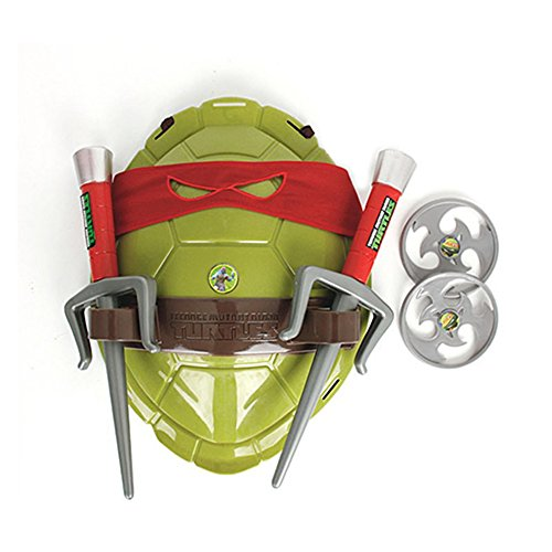 ClothingLoves New TMNT Teenage Mutant Ninja Turtles Weapons Toys TMNT Turtles Armor Shell Toy Movie Toys Kids Brinquedos Birthday Gifts (Blue Ninja Turtle Name)
