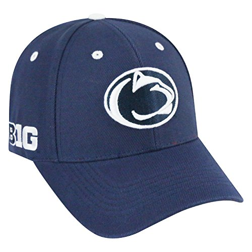 Adjustable Hats Lions - Top of the World NCAA-Triple Conference- Adjustable Hat Cap-Penn State Nittany Lions