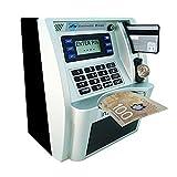 ATM Savings Bank with Realistic Sound,Kids Christmas Gift Money Savings Machine -Canadian Dollars Version