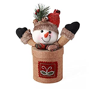 Amazon.com: hiLISS Snowman&Santa Claus Christmas Candy