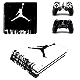 L'Amazo Best Sport fans American football basketball baseball PS4 Pro Designer Skin Game Console System p 2 Controller Decal Vinyl Protective Covers Stickers for PlayStation 4 Pro (Air Street) Review