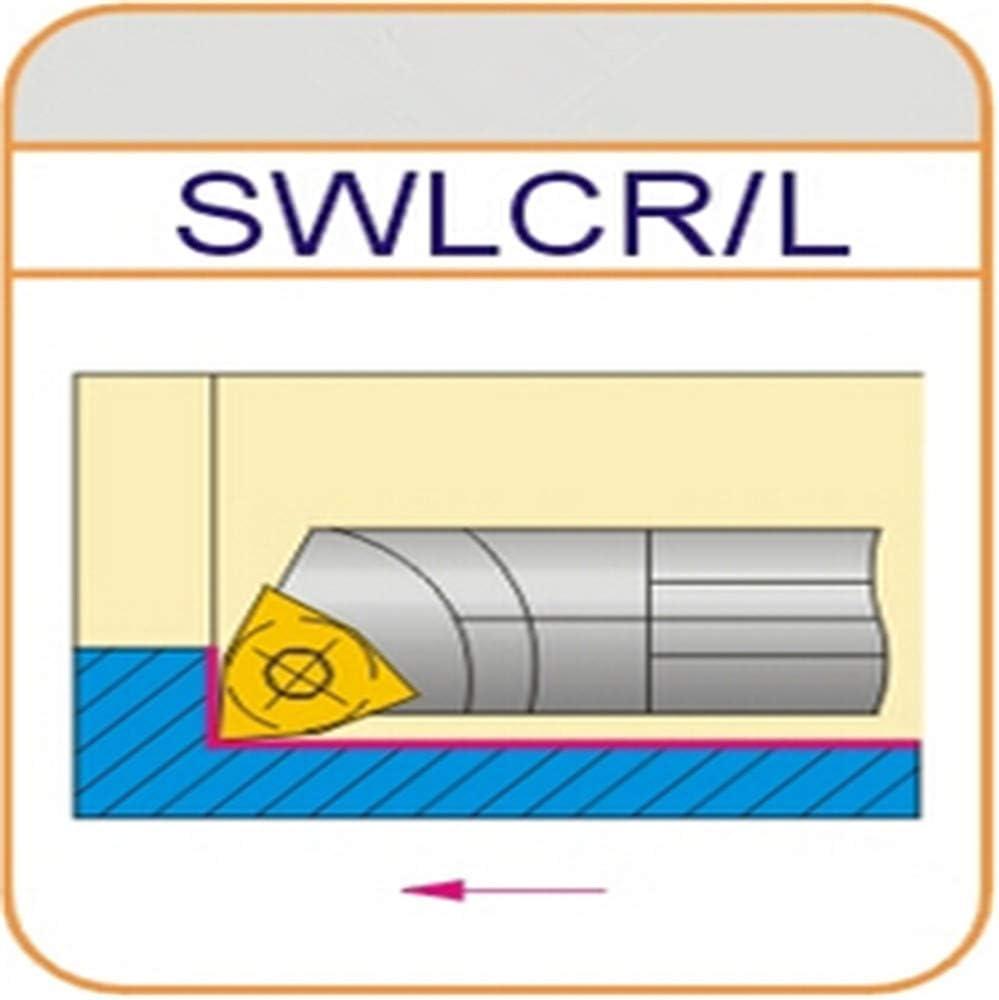 ZIYI 95/° S08K-SWLCR04 ndex Internal Lathe Turning Holder For WCMX04 Inserts